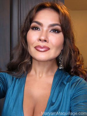 trying Sofia Vergara's Emmy's makeup look. How-to & deets: http://www.maryammaquillage.com/2012/10/caramela-chocolata-como-sofia.html