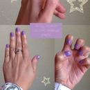 Lavender Flower Nails 💅💜