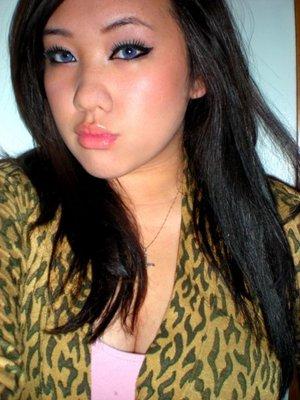 when i had black hair