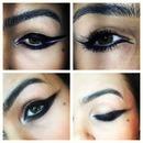 Eyeliner on Eyeliner
