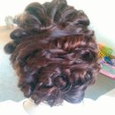 Prom Hair 2015 Back View