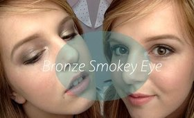 ♡ Bronze Smokey Eye Tutorial | Beautify With Beth ♡