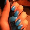 Glitter Blue(: