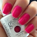 Gelish Dark Pink