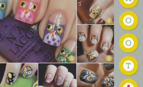 All About Owl Nails