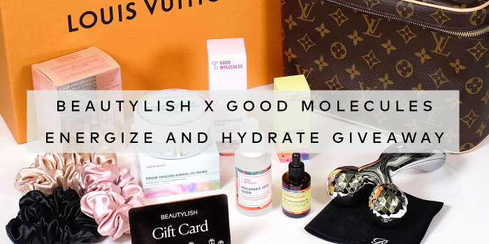 Enter the Good Molecules Hydrate & Energize Giveaway on Instagram today!