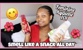 How To Smell Like A Snack All Day For School 2019 (Feminine Hygiene Routine)