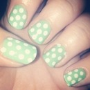 Mint with white spots!