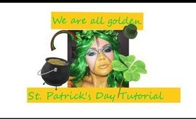 We are all Golden:  St. Patrick's Day Tutorial
