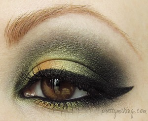 May 23rd, 2012 -- Prettymaking: EOTD: Off-Center Orange -- http://prettymaking.blogspot.com/2012/05/eotd-off-center-orange.html
