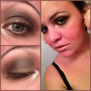 according to Harper's Bazaar and other magazines, brown smokey eyes are so IN this fall. I also used MAC 'Dark Devotion' for the dark brown and Gorgeous for the silver in the corners but Beautylish doesn't have those shades so I couldn't select it. Be sure to visit my blog guys - http://hollyannesilva.blogspot.com