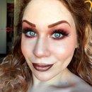 Rusted Mahogany Metallic Makeup