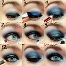 Blue Smokey How-to