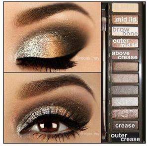 Beautiful eye color