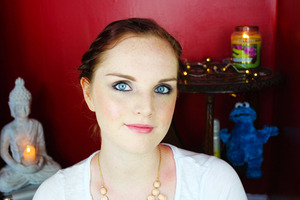 A look I filmed a tutorial for on my Youtube channel.