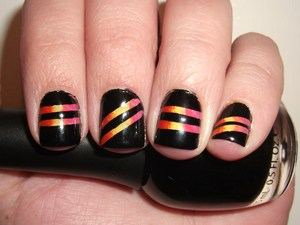Sunset Strip Nails- http://polishmeplease.wordpress.com
