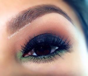 Smokey eye using Anastasia lavish palette