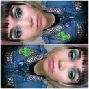 Green Eyes & Pink Lip
