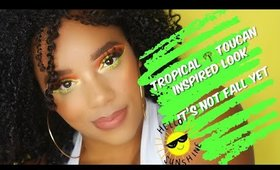 #GRWM Tropical Look | Anastasia Beverly Hills Prism Palette | leiydbeauty