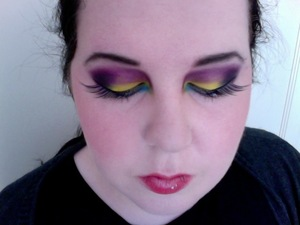 Tropical Passion flower inspired