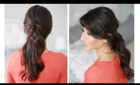 How To: Organic Ponytail