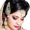 Engagement Makeup on Indian Bride