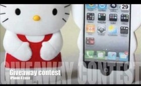 Hello Kitty 3D iPhone case GIVEAWAY !!!