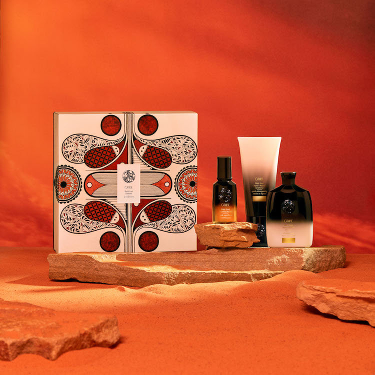 Alternate product image for Gold Lust Collection (Oribe x Rowan Harrison) shown with the description.