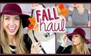 🍂 FALL 2014 Haul & Try-on! || Forever 21, MAC, Target, Express