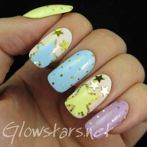 Read the blog post at http://glowstars.net/lacquer-obsession/2015/02/glitter-placement-stars-and-dots/