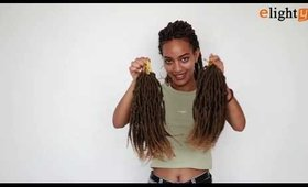 Spring Senegalese Twist Crochet Hair Demo