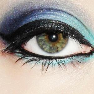 Just a random look I created using blues.