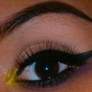 Upside Down Smokey Eye