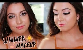 MY GO-TO SUMMER MAKEUP LOOK 2018