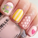 Sweet Mix-Match Nails