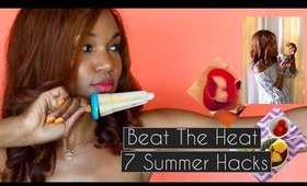 7 Summer Hacks to COOL YOU DOWN | Beat the Heat & Summer Tips | Pinterest Hacks◌ alishainc