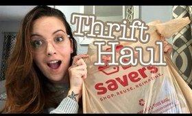 Thrift Store Haul | Reselling on Poshmark