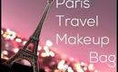 Paris Travel Makeup Bag