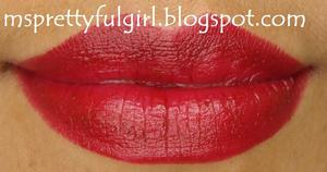 Avon Colordisiac Lipstick in Temptress http://msprettyfulgirl.blogspot.com/2011/11/fotd-simply-seductive.html