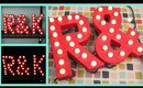DIY Easy Marquee Letter Lights Tutorial!