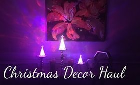 Holiday Decor Haul feat. Ross and Dollar Tree