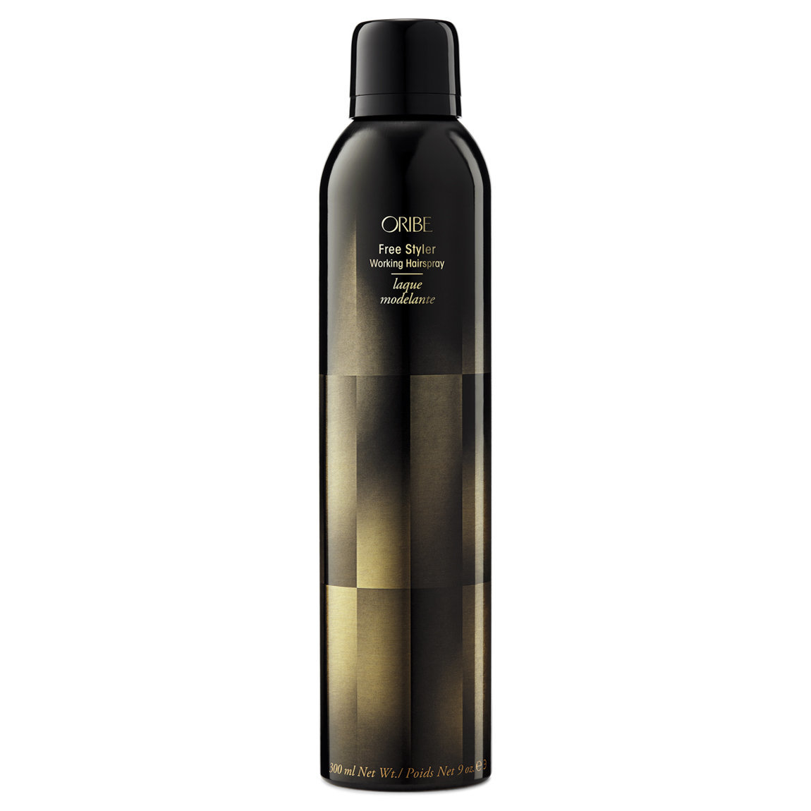 Oribe Free Styler Working Hairspray 9 oz product swatch.