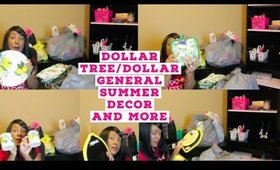 🍋DOLLAR TREE::DOLLAR GENERAL SUMMER DECOR AND MORE🍋