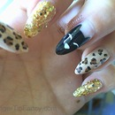Cat Leopard Tutorial Nails