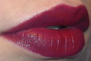 Vampire make-up - Lips