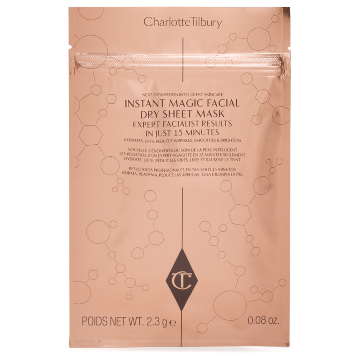 Charlotte Tilbury Instant Magic Facial Dry Sheet Mask alternative view 1 - product swatch.