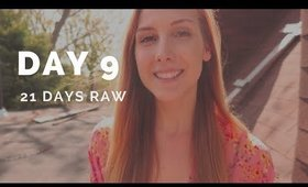 21 Days Raw: Day 9 | How to handle CRAVINGS