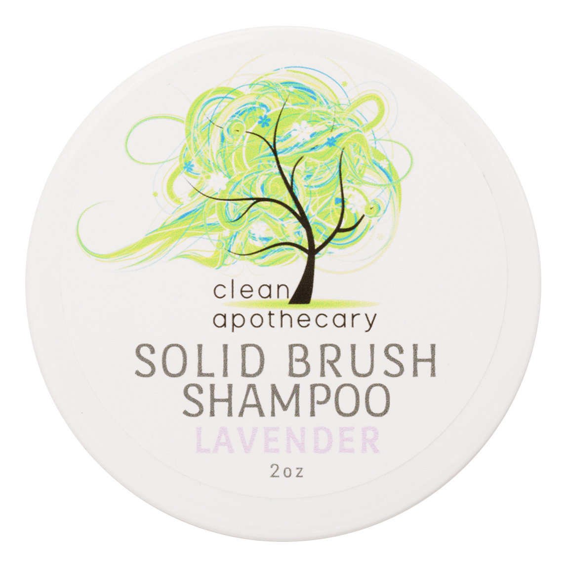 Clean Apothecary Brush Shampoo Lavender alternative view 1 - product swatch.