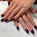 Black rockstar nails