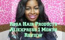 Rosa Hair Products Aliexpress 1 month review